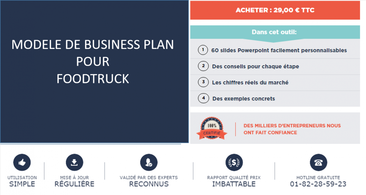 exemple business plan snack ambulant