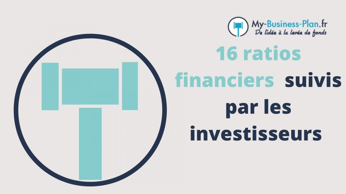 ratios financiers dans un business plan